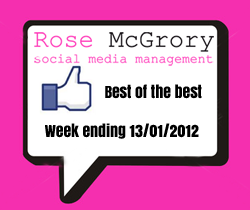 social media news roundup 13 jan 2012