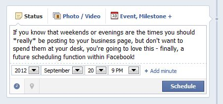 facebook post scheduling 2