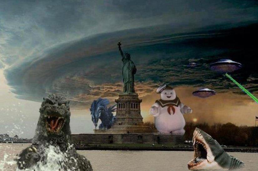 Twitter hurricane sandy hoax