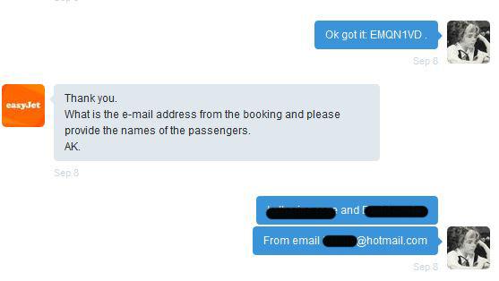 EasyJet Customer Service