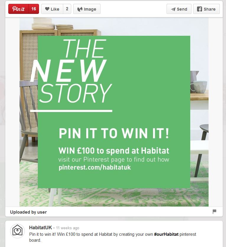 Pinterest competition