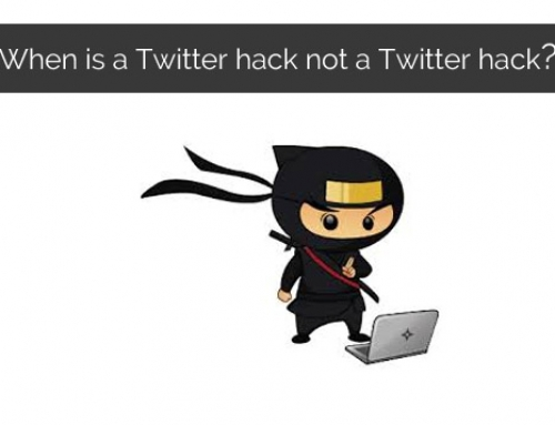 When is a Twitter hack not a Twitter hack?