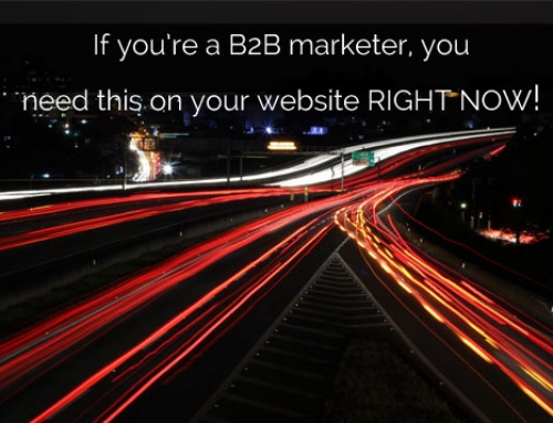 Are you a B2B marketer? You need to get this piece of code on your website RIGHT NOW!