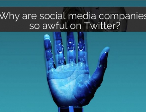 Why are Social Media Companies so awful on Twitter?